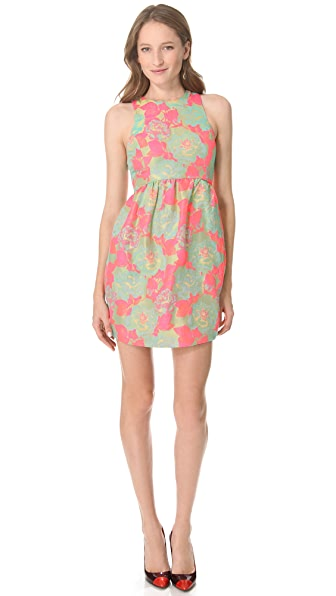 SUNO High Neck Dress