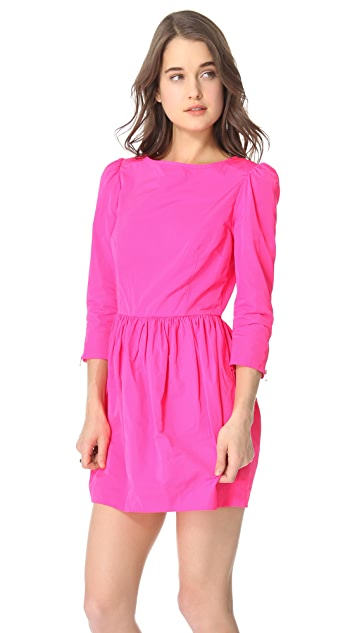 SUNO Fitted Bodice Dress