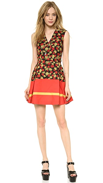 SUNO Deep V Dress