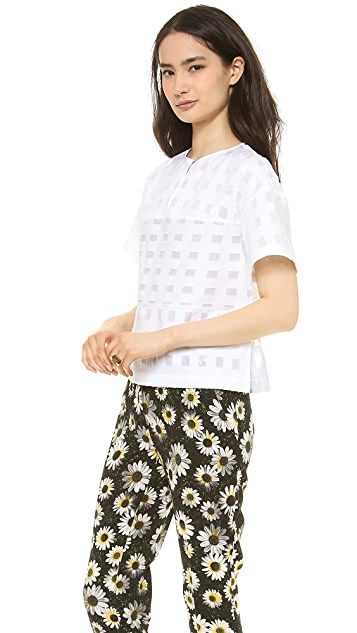 SUNO Boxy Oversized Top