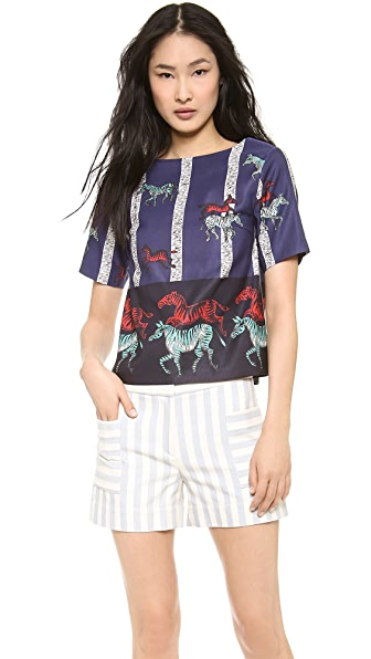 SUNO Simple Boxy Top