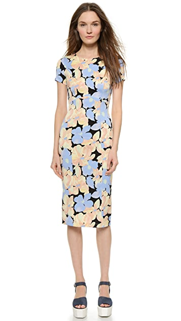 SUNO Fitted Dress