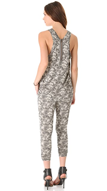 Superfine Camouflage Jumpsuit