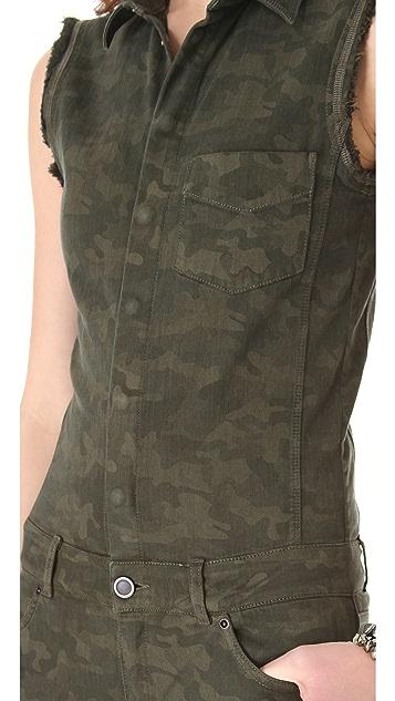 Superfine Camouflage Jumpsuit