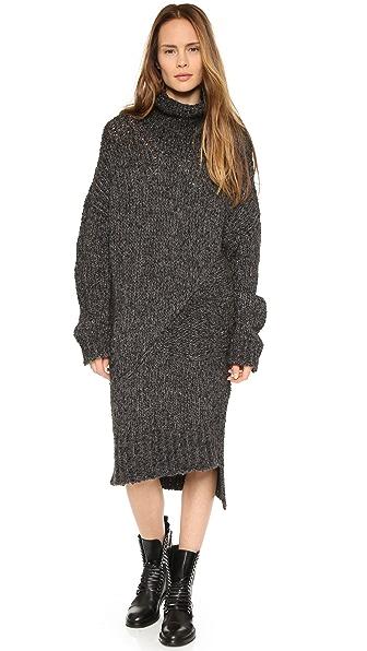 Superfine Bomber Sweater Dress