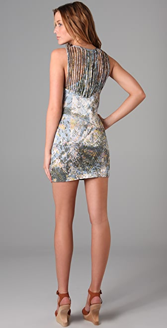 Surface to Air String Dress