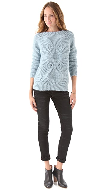 Surface to Air Chunky Ginger Sweater