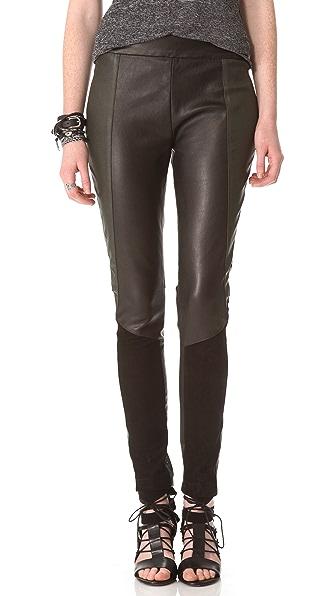 Surface to Air Deeta Leather Leggings