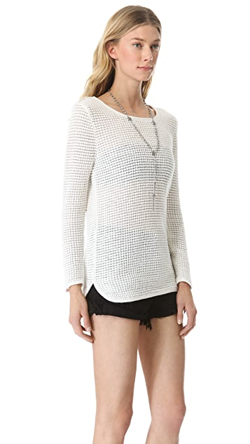 Surface to Air Waffle Long Sweater