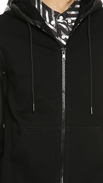 Surface to Air Mario Leather Hoodie