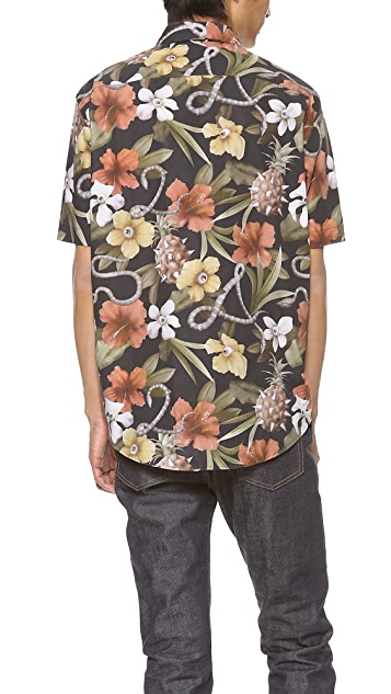 Surface to Air Aloha Cadillac Short Sleeve Shirt