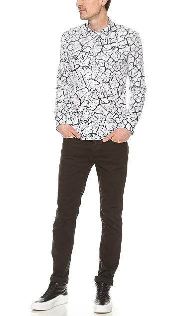 Surface to Air Printed Button Down Shirt