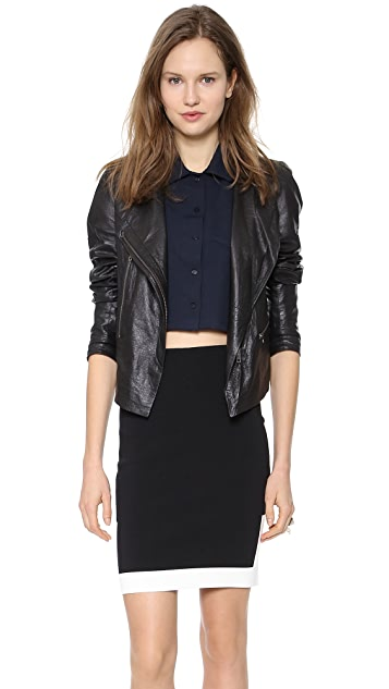 Surface to Air Kim Leather Jacket