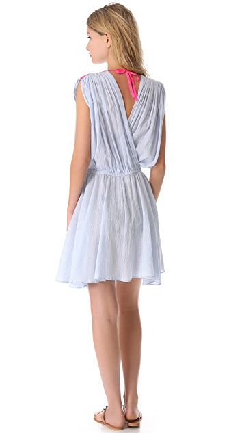 Surf Bazaar Double V Cover Up Dress