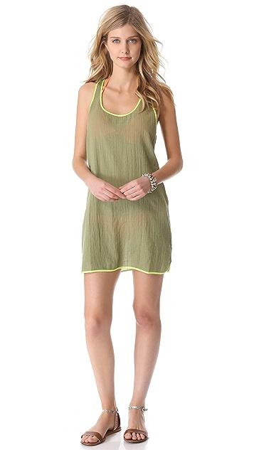 Surf Bazaar Tank Cover Up Mini Dress