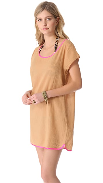 Surf Bazaar Cover Up Tee Dress