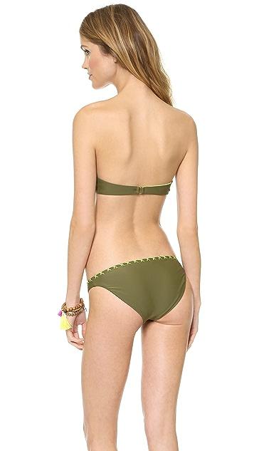 Surf Bazaar Crochet Bra Bikini Top