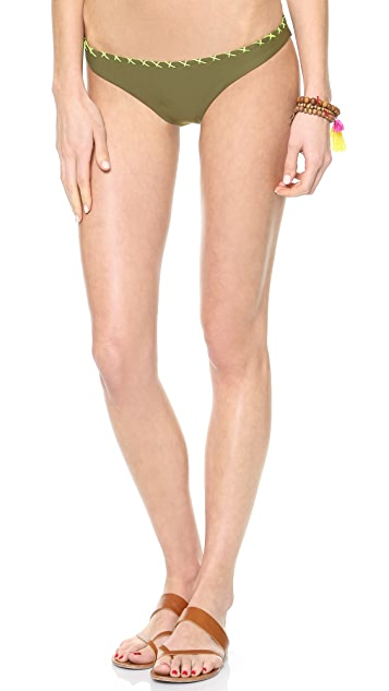 Surf Bazaar Reversible Crochet Bikini Bottom