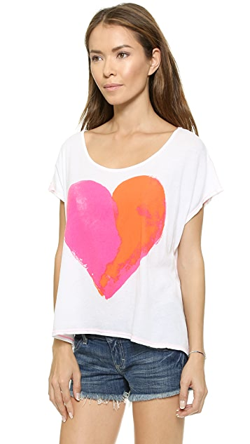 Surf Bazaar Heart Beach Tee