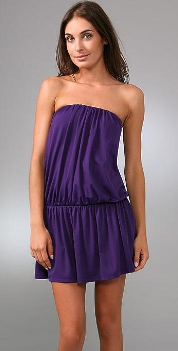 Susana Monaco Strapless Dress