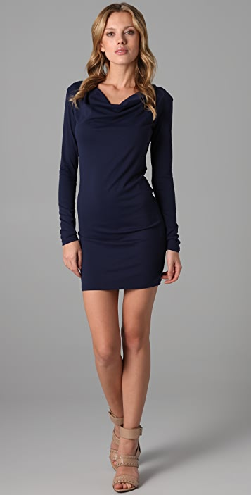 Susana Monaco Deep Sea Cowl Dress