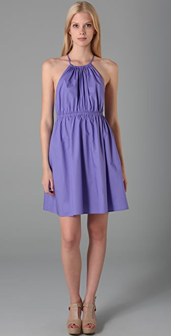 Susana Monaco Batiste X Back Dress