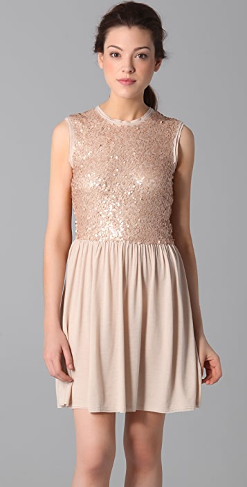 Susana Monaco Sequined Party Dress