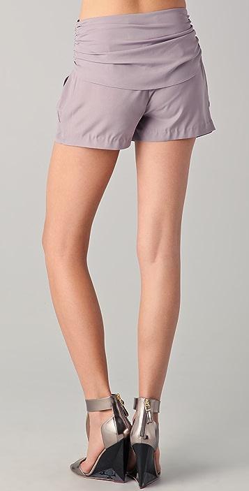Susana Monaco Zina Sash Shorts