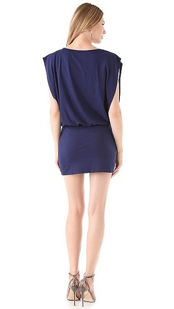 Susana Monaco Blouson V Dress