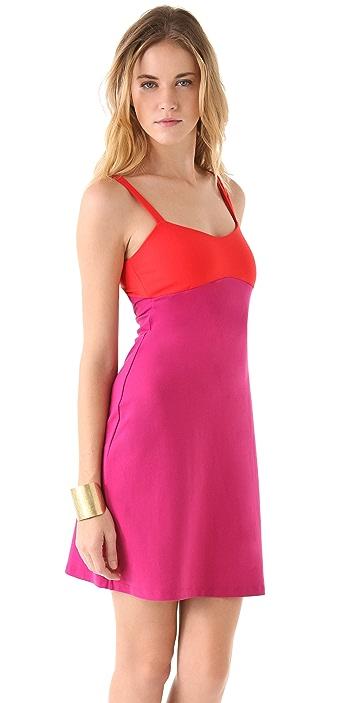 Susana Monaco Strap Back Tank Dress