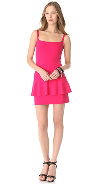 Susana Monaco Peplum Tank Dress