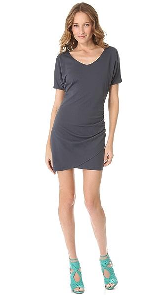 Susana Monaco Overlap V Dress
