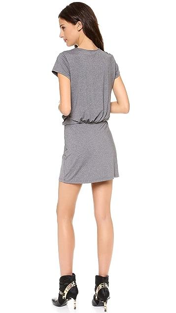 Susana Monaco Crew Melange Dress
