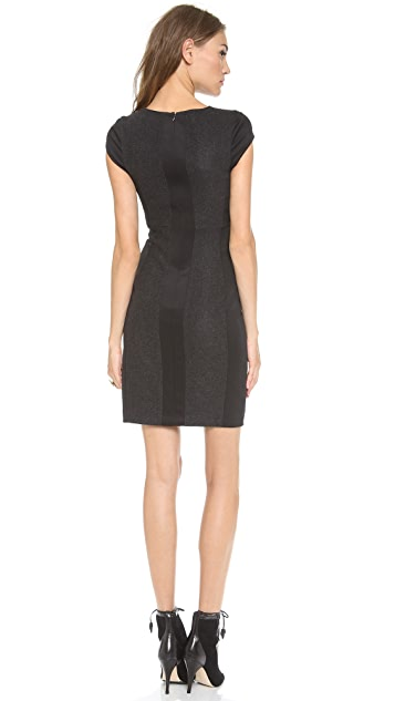 Susana Monaco Lina Paneled Shift Dress