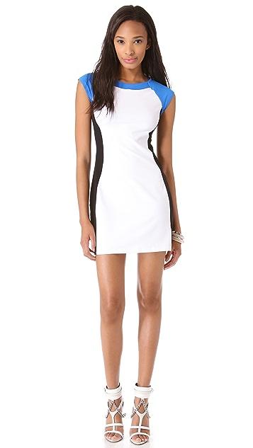 Susana Monaco Malai Colorblock Dress
