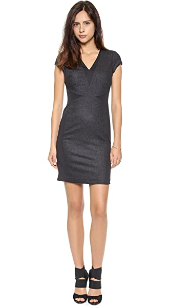 Susana Monaco Stella Wool Sheath Dress