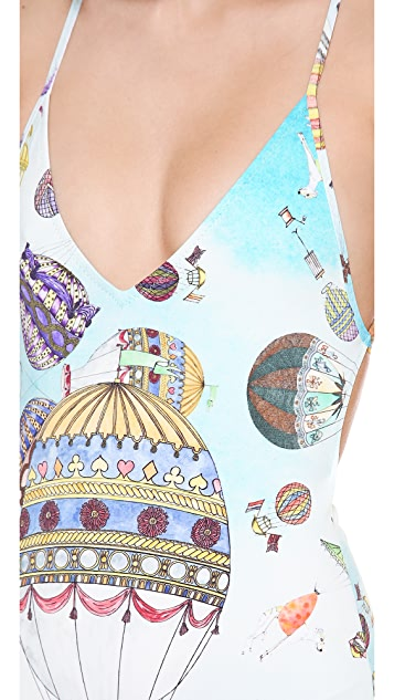 SWASH Classic Strap One Piece Swimsuit