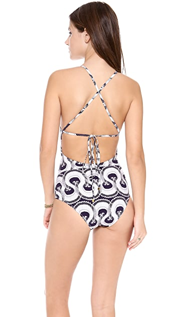 SWASH Rambling Ruff Classic Strap Swimsuit