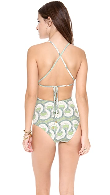 SWASH Rambling Ruff Classic Strap Swimsuit