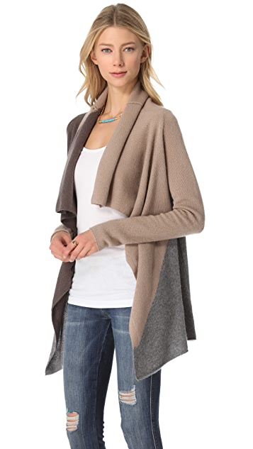 360 SWEATER Yardley Cashmere Cardigan