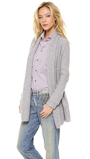 360 SWEATER Aries Cardigan with Pockets