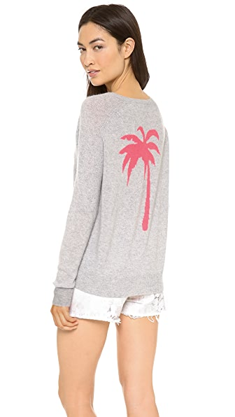 360 SWEATER Palm Cashmere Sweater