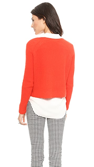 360 SWEATER Scotti Cashmere Crop Sweater