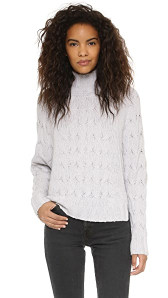 360 Sweater Victory Batwing Sweater - Arctic Mist
