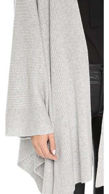 360 SWEATER Cashmere Olivera Wrap Sweater