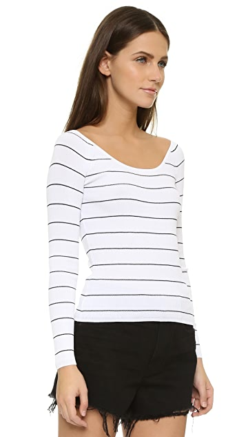 360 SWEATER Rocky Barnes Collection Phuket Off Shoulder Sweater
