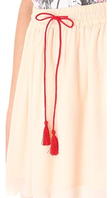 Swildens In Pleated Skirt