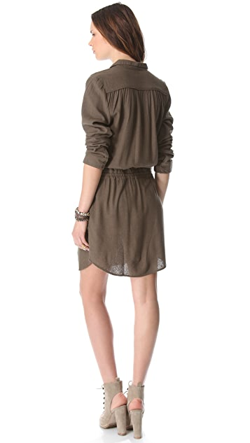 Swildens Iryna Silk Henley Dress