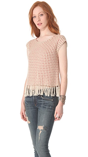 Swildens Into Sweater with Fringe