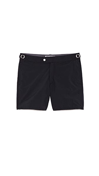 Swim-Ology Solid Swim Trunks
